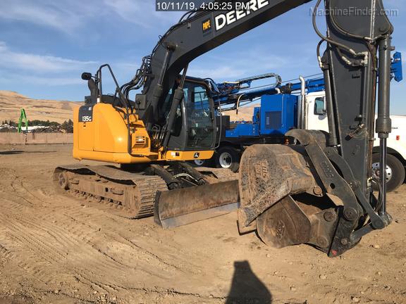 2018 John Deere 135G