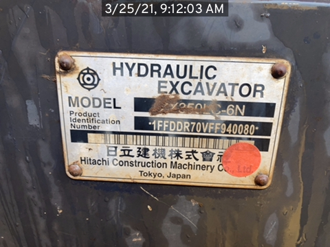 2015 Hitachi ZX3506