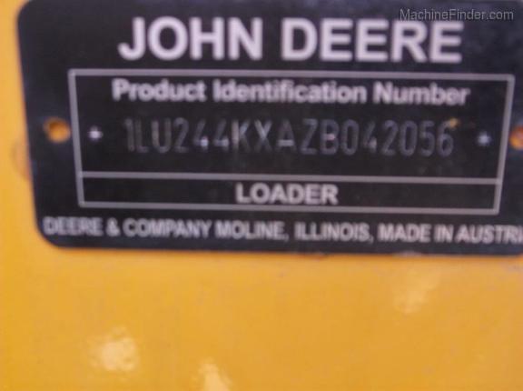 2016 John Deere 244K