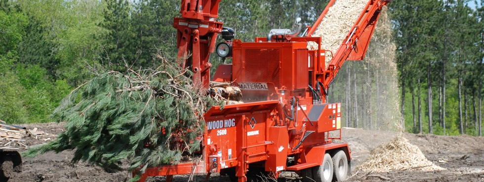 Morbark 2600 Wood Hog Horizontal Grinder