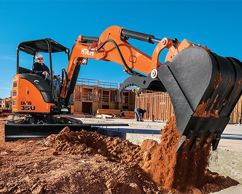 Hitachi Compact Excavators Equipment Image