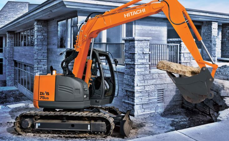 Reduced Tail - Swing Excavators Equipment Image