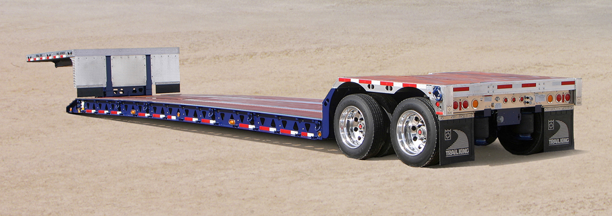 Trail King AMG Mechanical Detachable Gooseneck Trailer