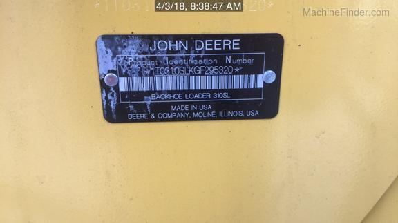 2015 John Deere 310SL