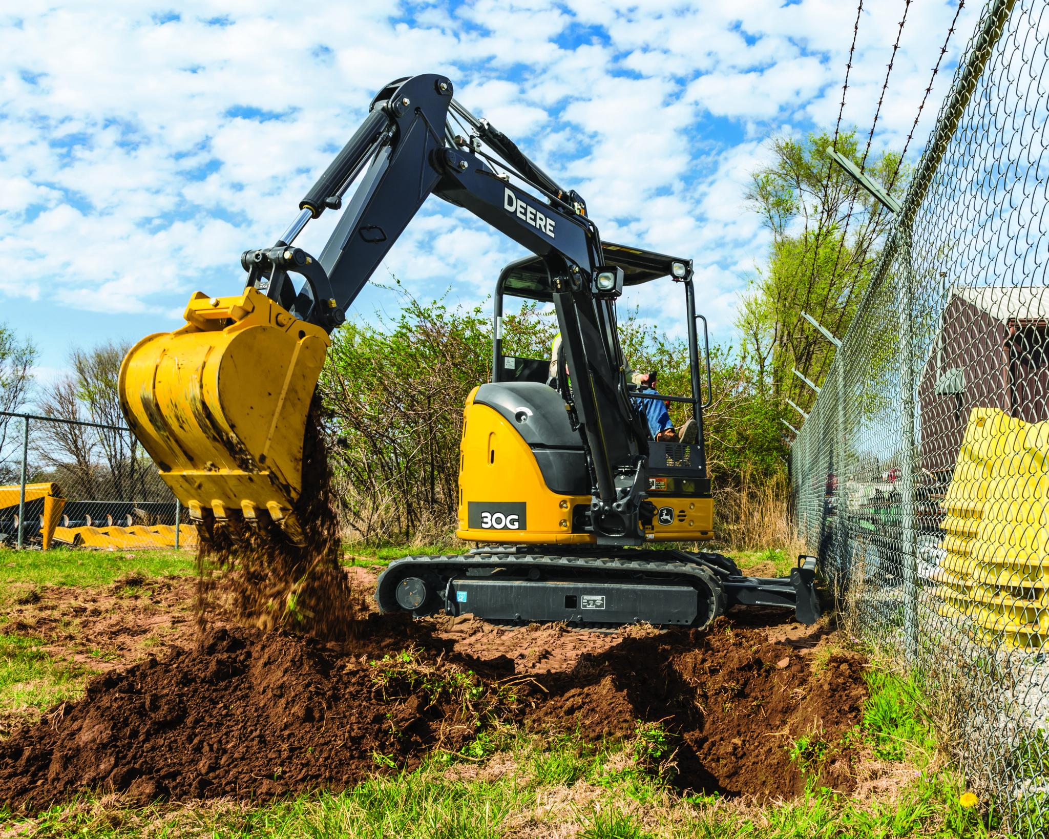 Introducing the John Deere 30g Compact Excavator