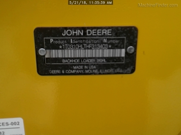 2017 John Deere 310HL
