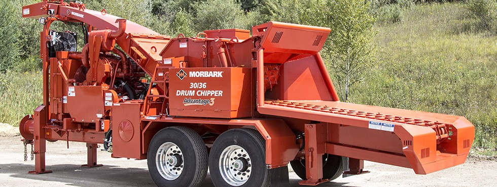 Morbark 30/36 Whole Tree Drum Chipper