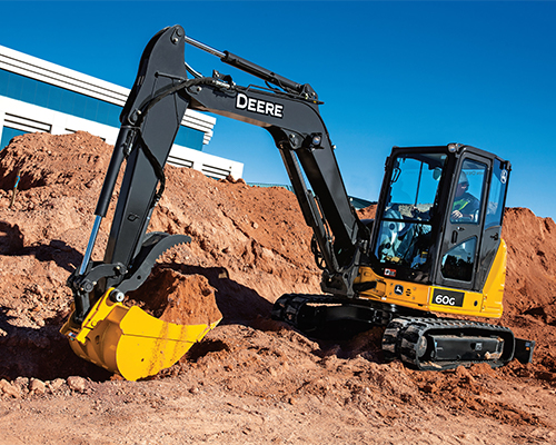 John Deere Compact Excavators Equipment Image
