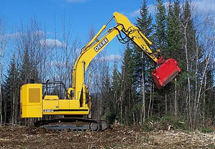 Fecon Bull Hog Excavator Attachment