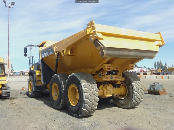 used articulated dump truck