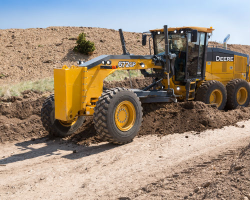 John Deere Motor Graders Equipment Image