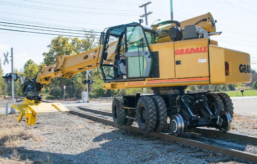 Gradall Rough Terrain Wheeled - XL 5300 V