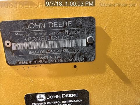 2017 John Deere 310LEP