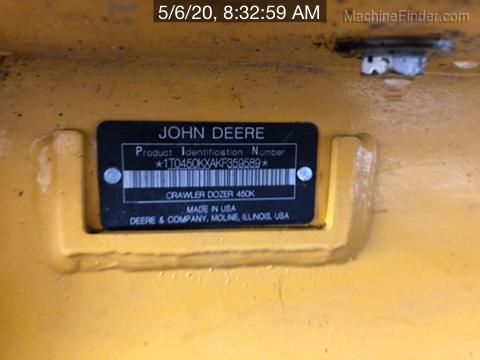 2019 John Deere 450KLG