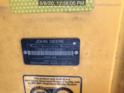 2019 John Deere 410E
