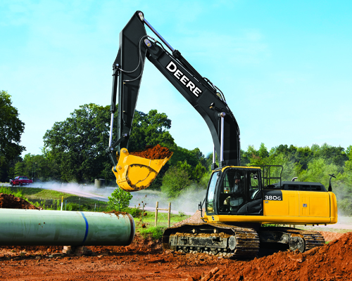 Excavators Equipment Image