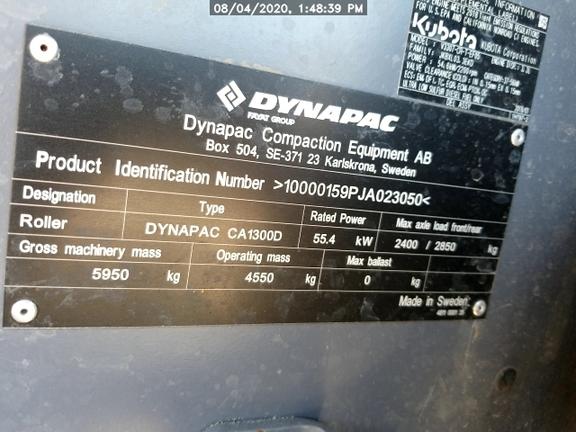 2019 Dynapac CA1300