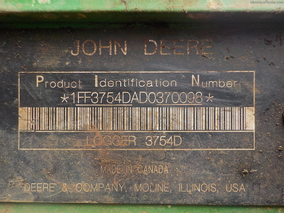 2013 John Deere 3754D