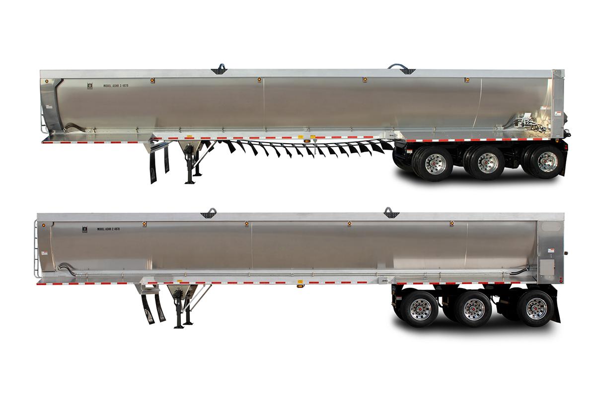Trail King ASHR and ASHR-C Alluminum Super Hi-Lite Rolled Side