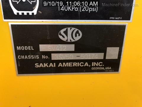 2015 Sakai SV412D