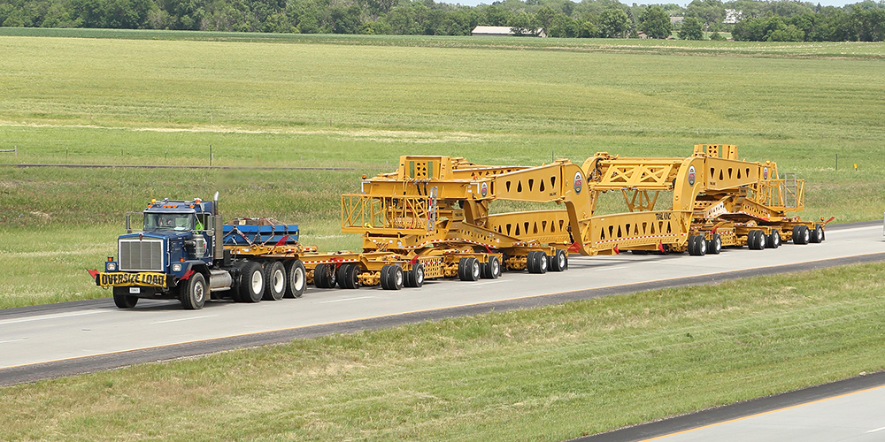 Trail King Dual Lane Transport Trailers