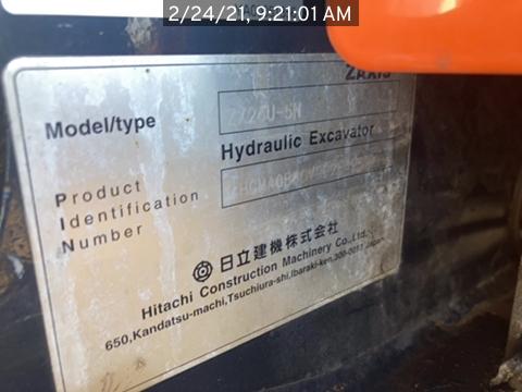 2019 Hitachi ZX26U5