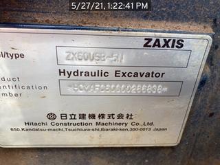 2016 Hitachi ZX60U5