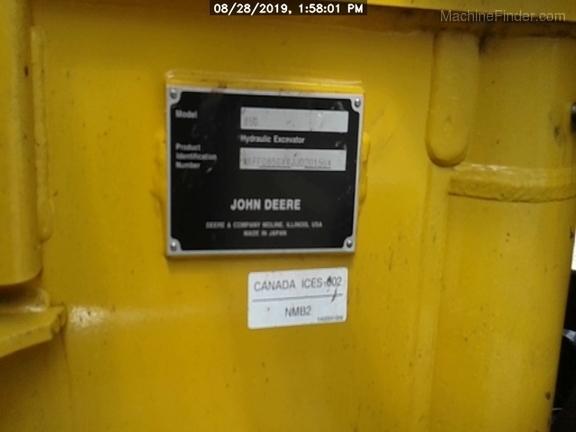 2018 John Deere 85G