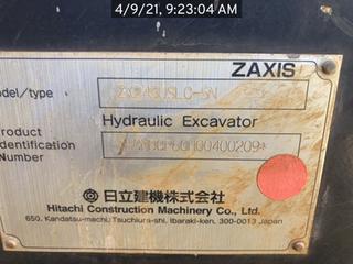 2015 Hitachi ZX2455