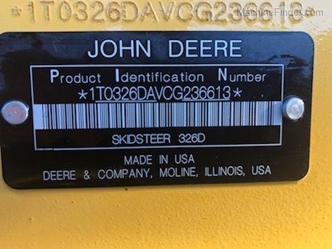 2013 John Deere 326D
