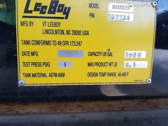 2017 Leeboy MAX 2B