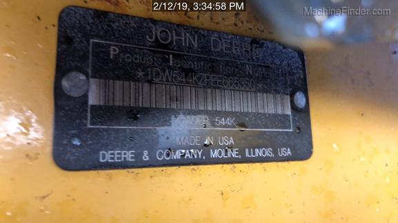 2015 John Deere 544K