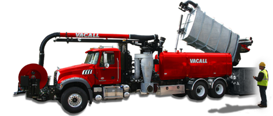 Vacall AllJetVac with High Dump