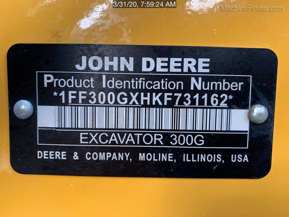 2019 John Deere 300GLC