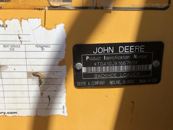 2008 John Deere 410J