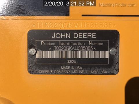 2018 John Deere 320G