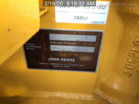2019 John Deere 35G