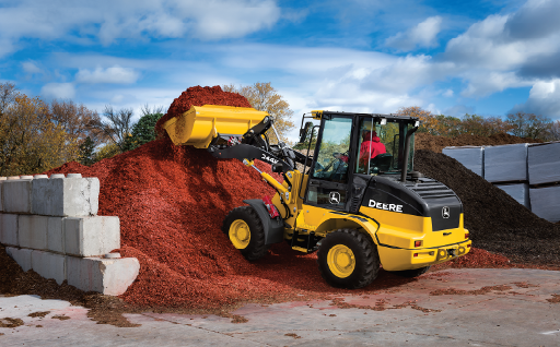 John Deere Compact Wheel Loaders