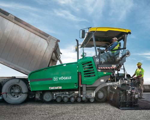 Vogele Highway Class Pavers Equipment Image