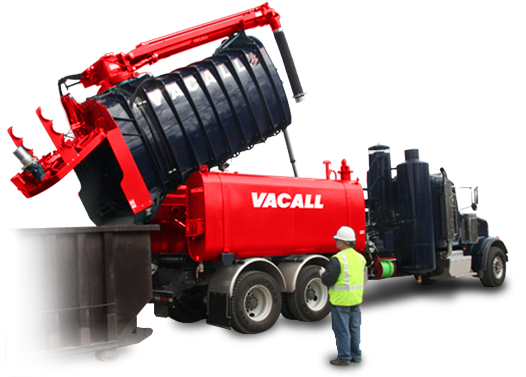 Vacall AllExcavate with High Dump