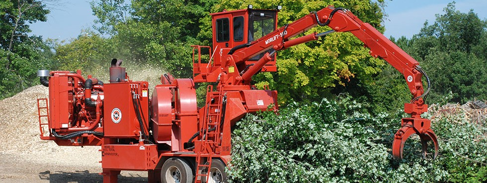 Morbark Model 23 Chiparvestor Whole Tree Chippers