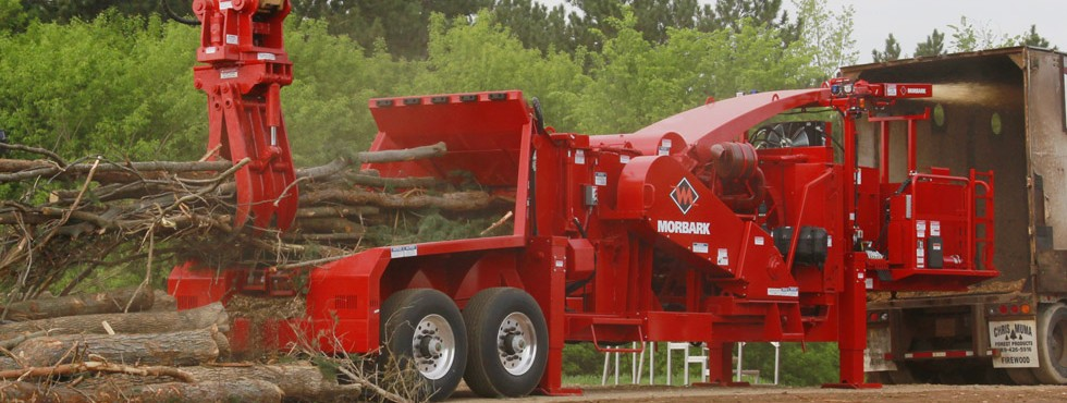 Morbark 40/36 Whole Tree Drum Chipper
