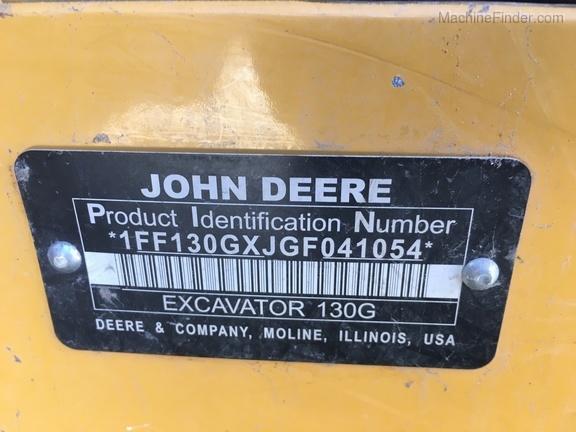 2016 John Deere 130G