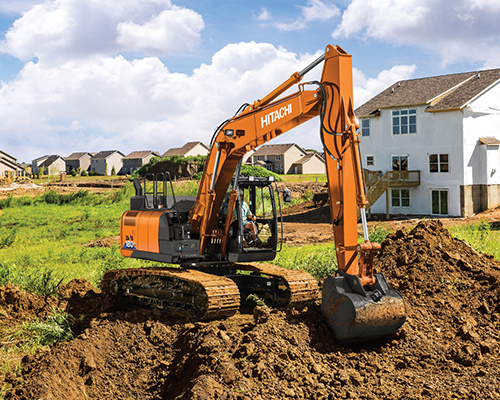 Utility Excavators Equipment Image