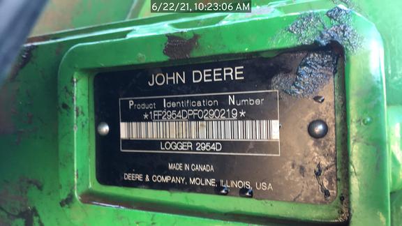 2015 John Deere 2954D