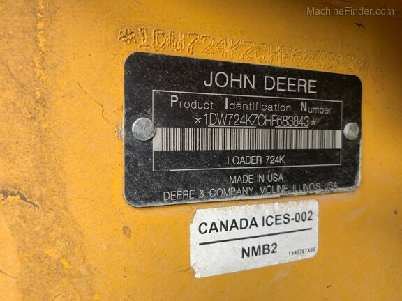 2018 John Deere 724K