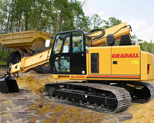 Crawler Excavators Equipment Image