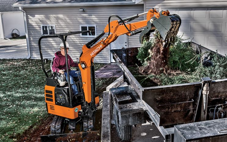 Compact Excavators Equipment Image