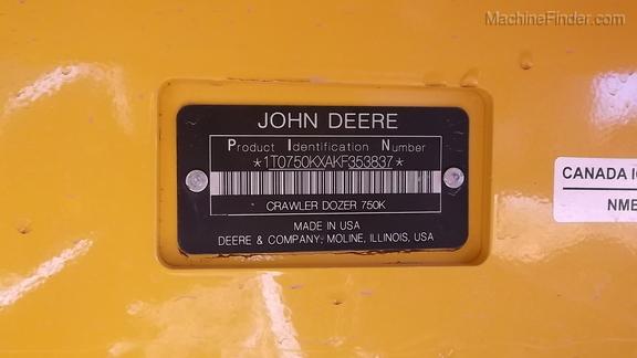 2019 John Deere 750KXL