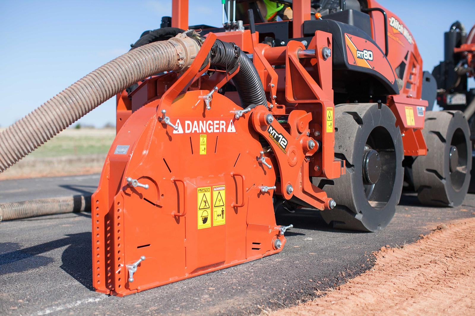 Ditch Witch MT12 Microtrencher